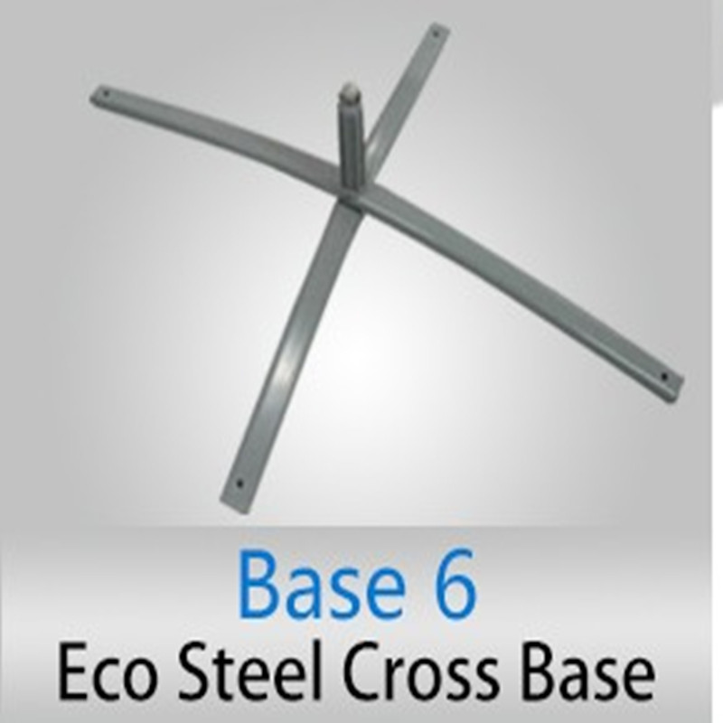 Powder coated Cross Steel base